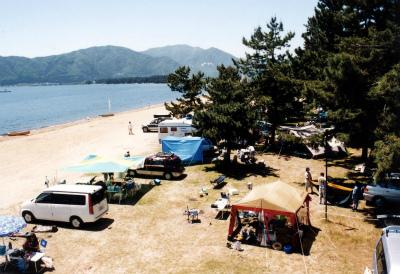びわ湖畔白浜荘オートキャンプ場写真9