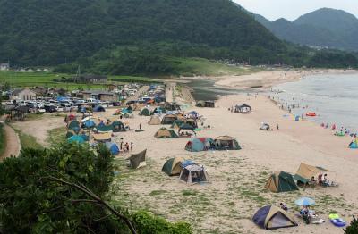 高嶋海水浴場キャンプ場写真2