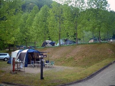 湯の原温泉オートキャンプ場写真