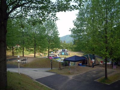 湯の原温泉オートキャンプ場写真2