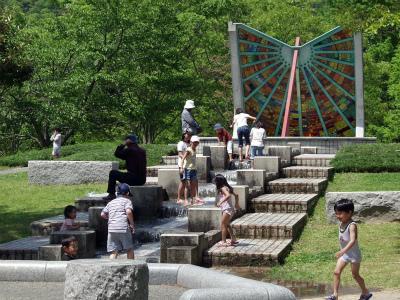 西脇市日本のへそ 日時計の丘公園キャンプ場写真1