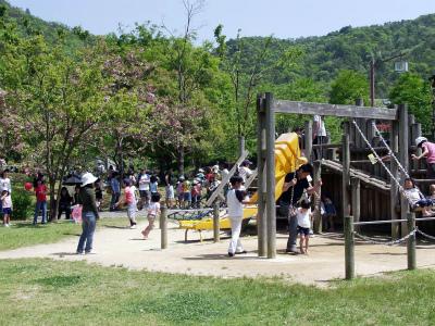 西脇市日本のへそ 日時計の丘公園キャンプ場写真2