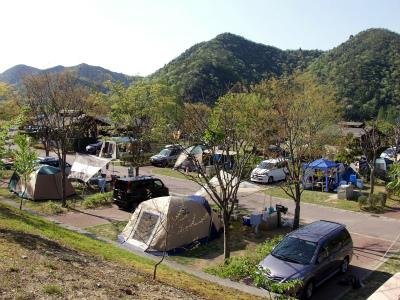 西脇市日本のへそ 日時計の丘公園キャンプ場写真5