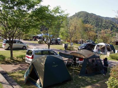 西脇市日本のへそ 日時計の丘公園キャンプ場写真6