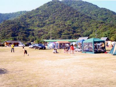 淡路じゃのひれオートキャンプ場写真