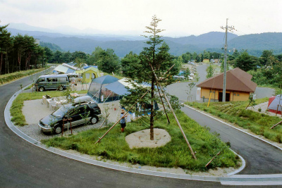 津黒高原温泉キャンプ場写真1