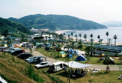 片添ヶ浜海浜公園オートキャンプ場写真1