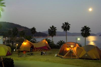 片添ヶ浜海浜公園オートキャンプ場写真4