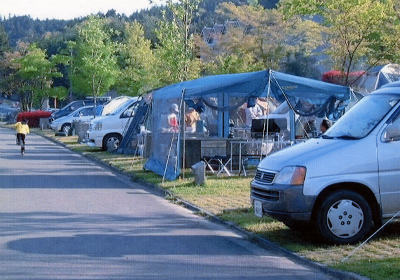 秋吉台オートキャンプ場写真4