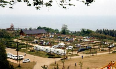 竜王山公園オートキャンプ場写真2