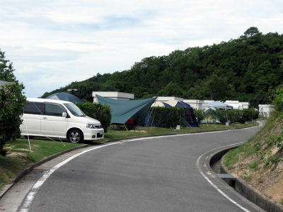 小豆島ふるさと村キャンプ場写真1