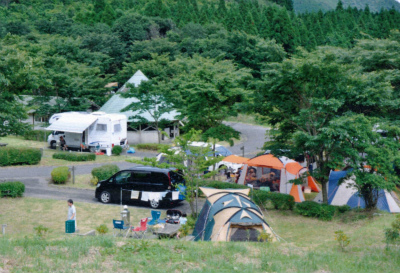 スノーピーク奥日田キャンプフィールド写真4