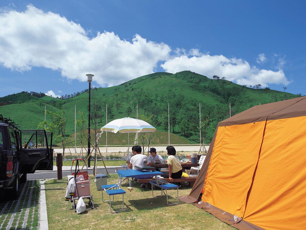 深入山グリーンシャワー オートキャンプ場写真1