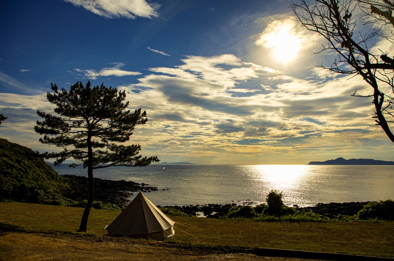 波戸岬キャンプ場写真