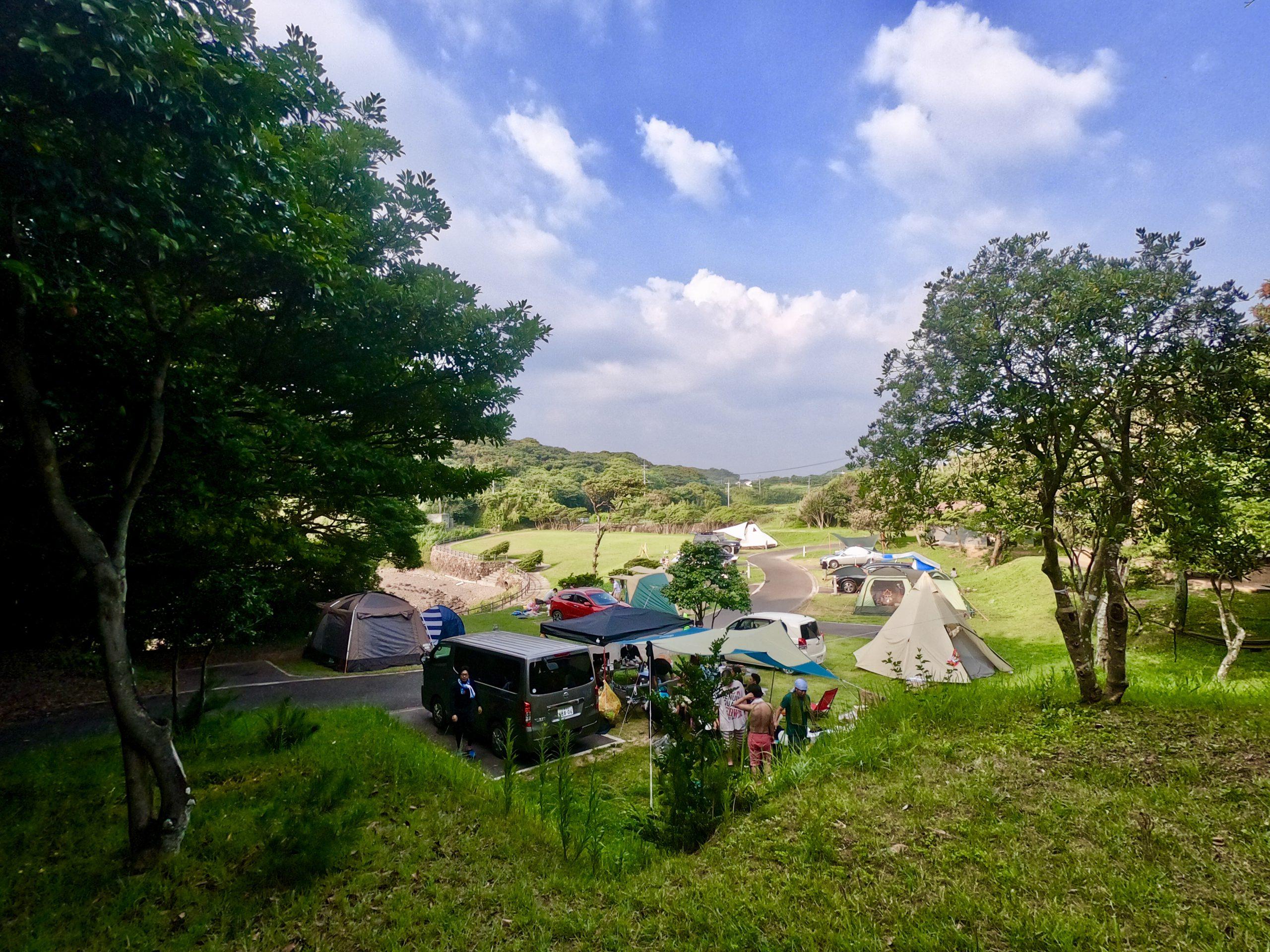 波戸岬キャンプ場写真8