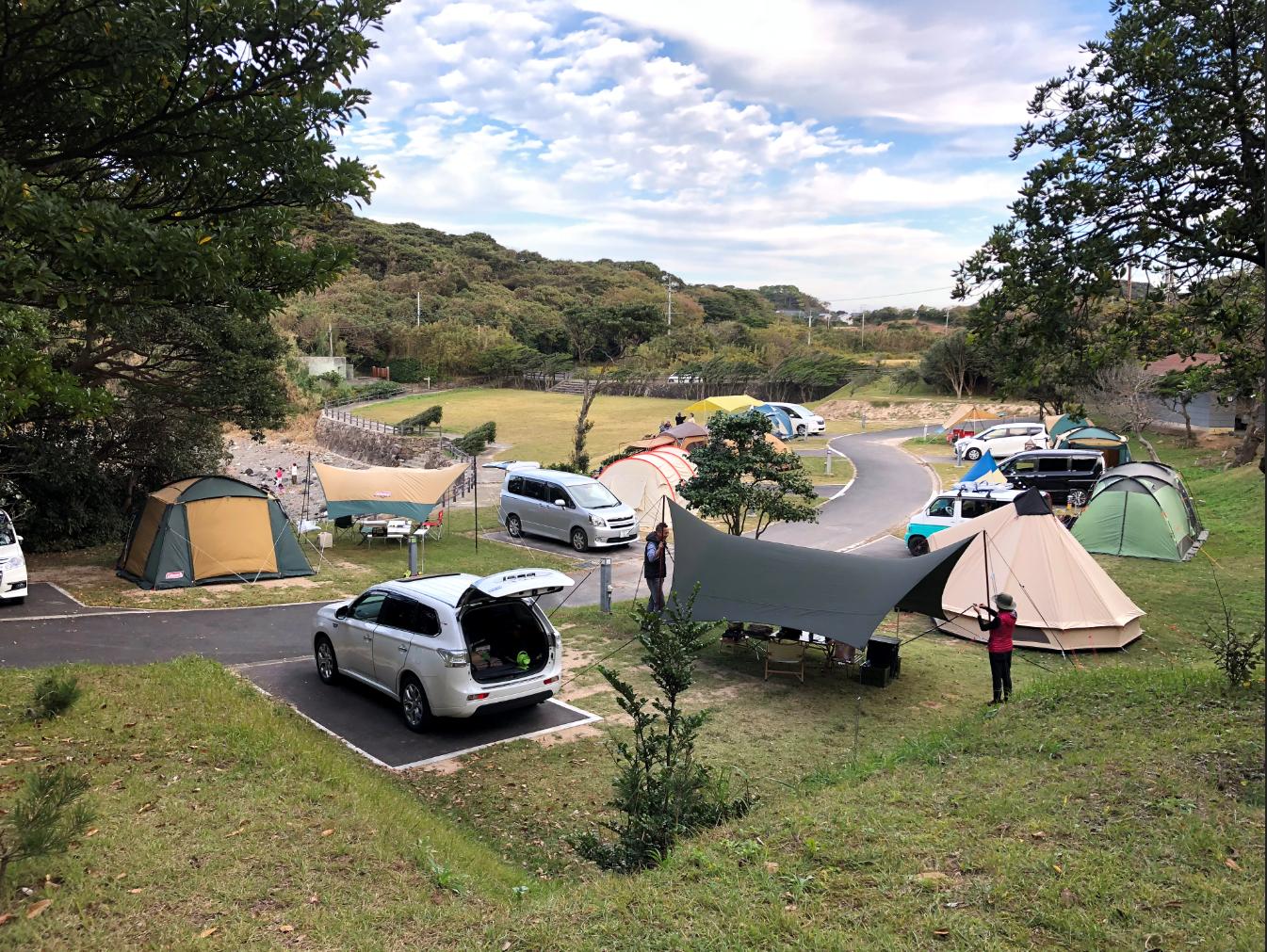 波戸岬キャンプ場写真4