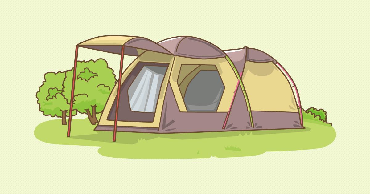 ツールーム型テント