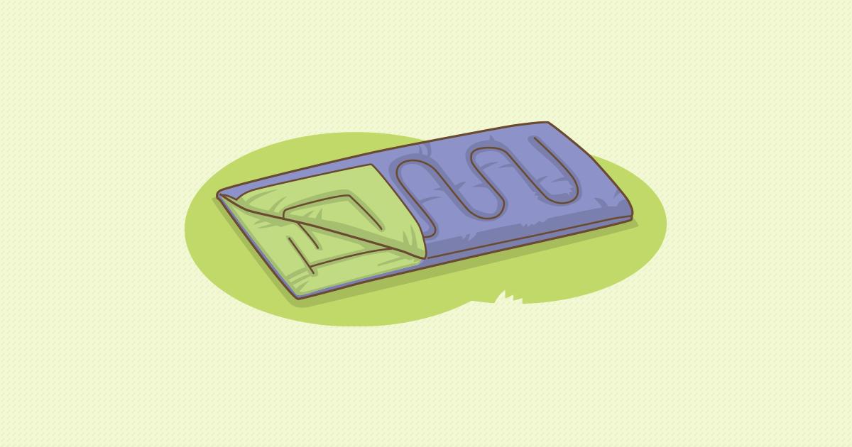 シュラフ(封筒型)
