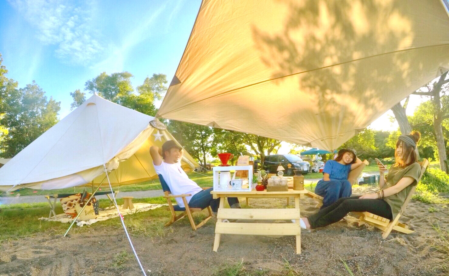 六ツ矢崎浜オートキャンプ場写真