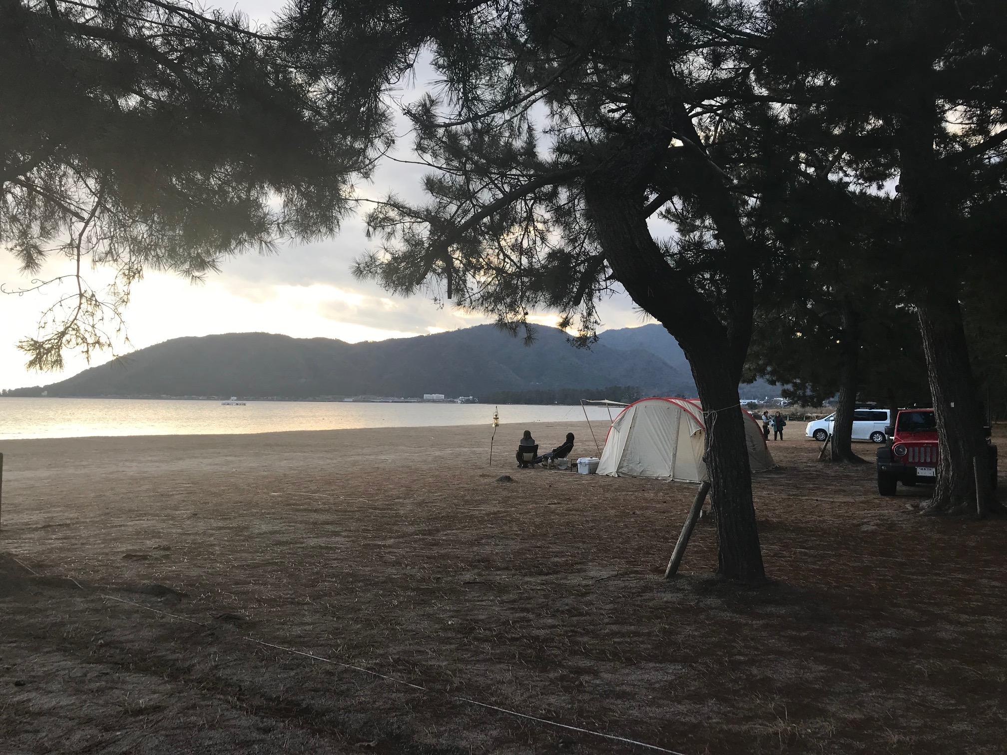 白浜荘オートキャンプ場写真