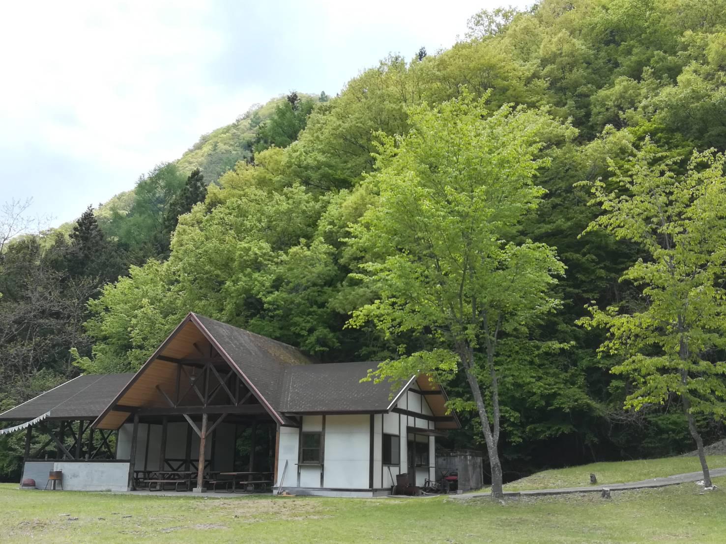 芦安キャンプサイトNo2写真3