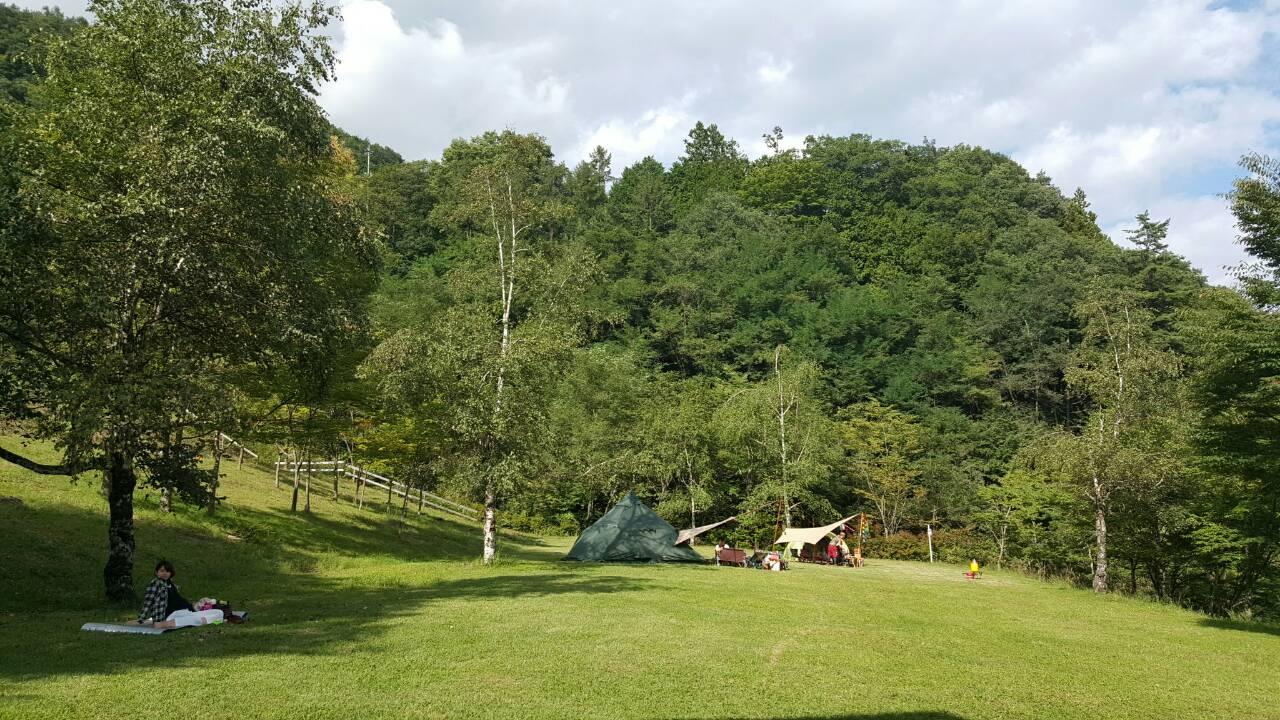 芦安キャンプサイトNo2写真1