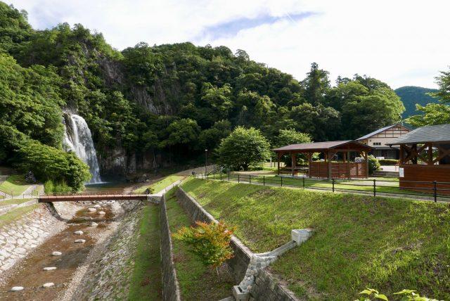 紀宝町飛雪の滝キャンプ場写真2