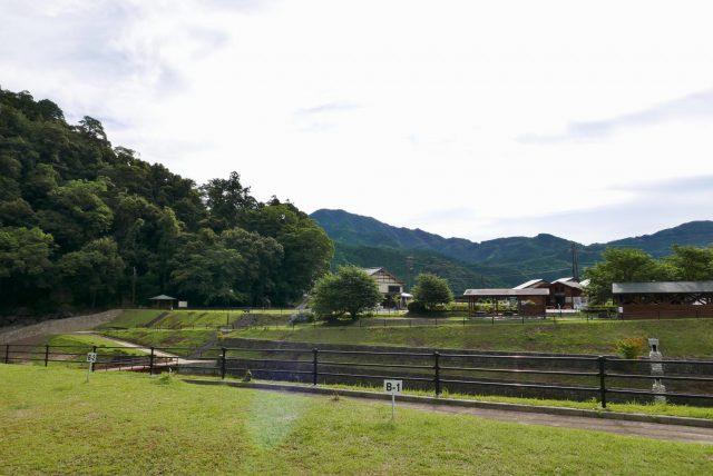 紀宝町飛雪の滝キャンプ場写真5