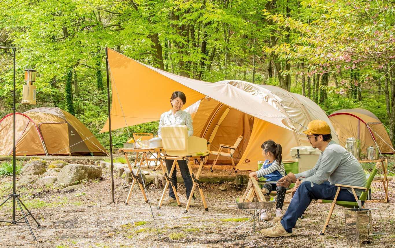 一向平キャンプ場写真