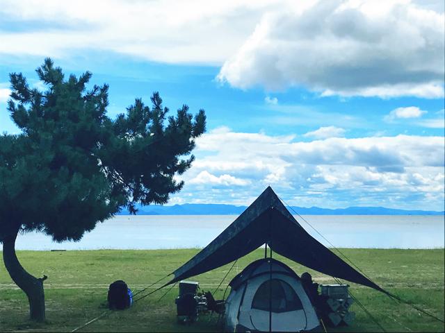 白浜荘オートキャンプ場写真1